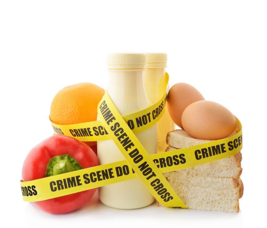 7 Κοινά λάθη στην ασφάλεια τροφίμων